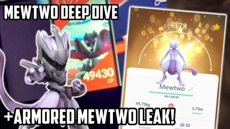 Mewtwo Deep Dive In Pokemon Go Plus Armored Mewtwo Leak!