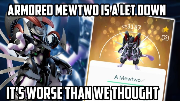 Armored Mewtwo Is A Disappointment In Pokemon GO…