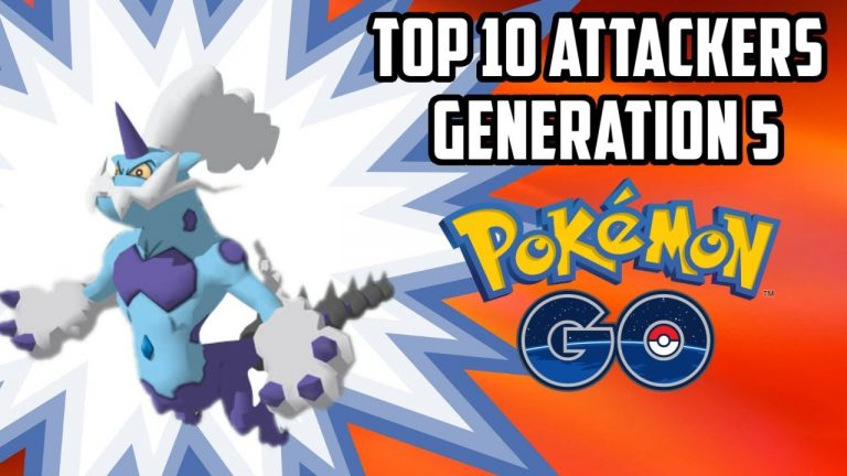 Top 10 Gen 5 Attackers Coming To Pokemon Go!
