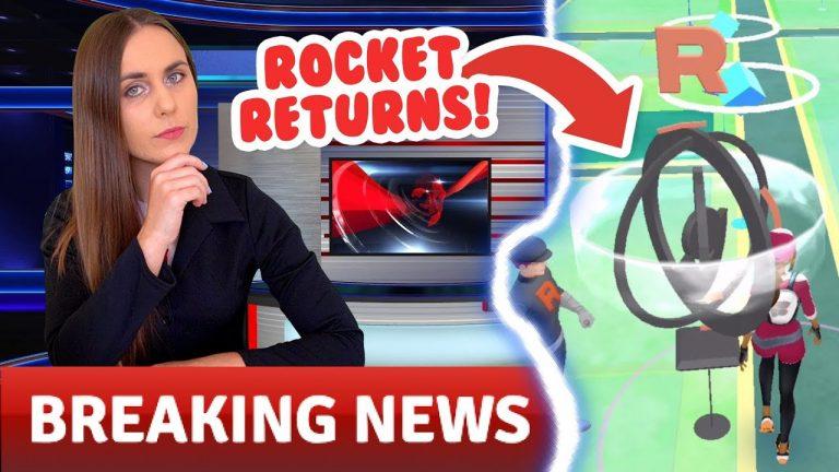 THEY'RE BACK! Team GO Rocket Returns to Pokémon GO!