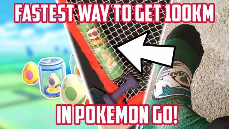 Fastest Way To Get 100KM In Pokemon Go! 100,000 Subscriber Special