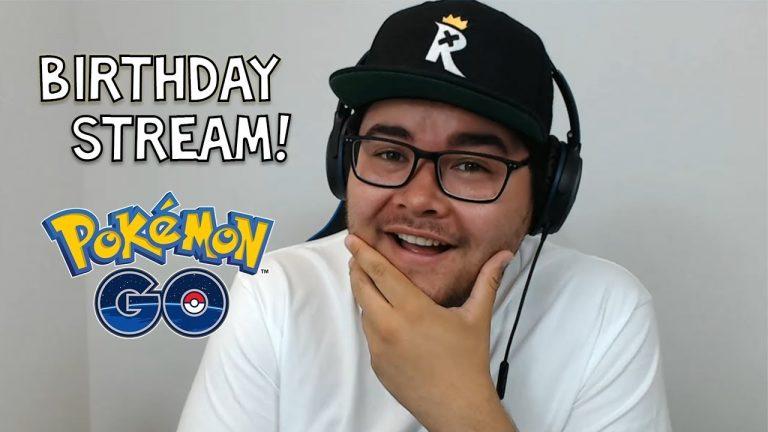 🎉 BIRTHDAY LIVESTREAM! 🎉 [Pokémon GO]