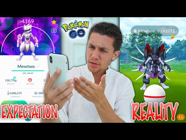 WHAT HAPPENED WITH ARMORED MEWTWO in Pokémon GO???