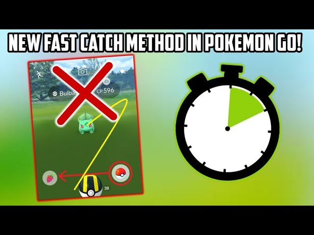 NEW Fast Catch Method Discovered In Pokemon Go Update!