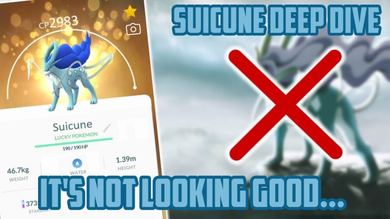 Suicune Deep Dive In Pokemon GO! How Good Is This Thang?