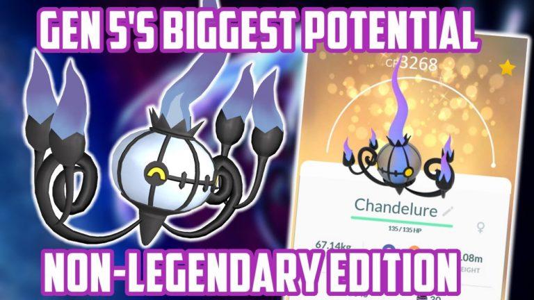 Gen 5 Non-Legendary Pokemon With The Biggest Potential In Pokemon Go!