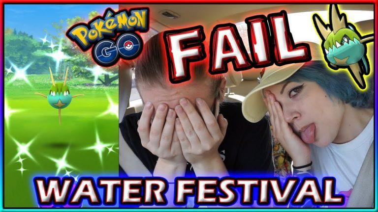 FAILING THE WATER FESTIVAL IN POKÉMON GO!