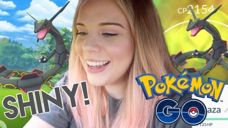 SHINY RAYQUAZA RAIDS in Pokémon Go! + Rayquaza Raid Guide and Pokemon Go News