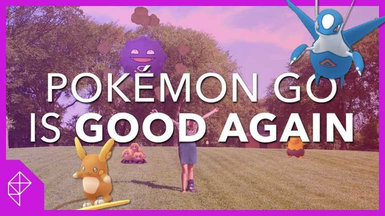 It's 2019 and Pokemon Go is good now