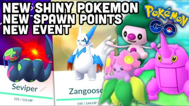 NEW SHINY POKEMON, EVENTS & SPAWN POINTS IN POKEMON GO   IN GAME GO FEST?