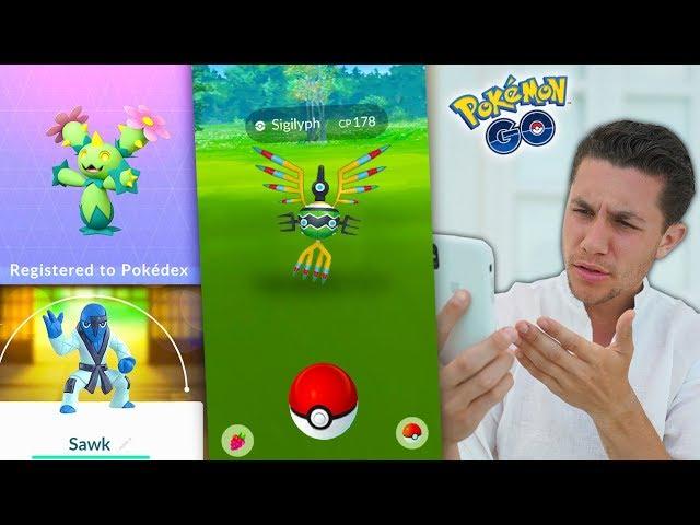 GENERATION 5 REGIONAL POKÉMON in Pokémon GO!