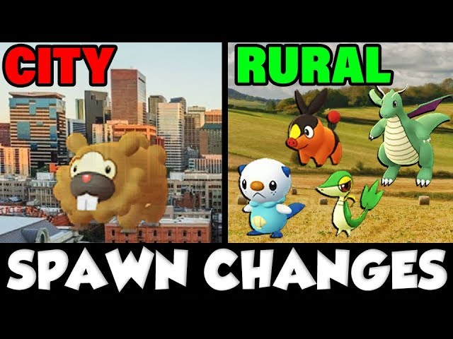 POKEMON GO SPAWN UPDATE – RURAL PLAYERS BUFFED! CITY NERFED! People Mad!