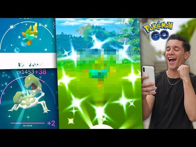 "I CAUGHT A NEW SHINY + A New ""BEST"" Pokémon in Pokémon GO!"