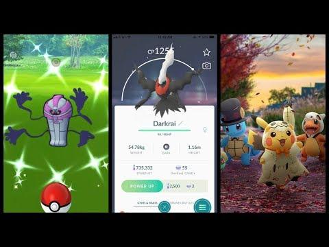 NEW HALLOWEEN EVENT IN POKEMON GO! New Shiny Pokemon, Darkrai & More!