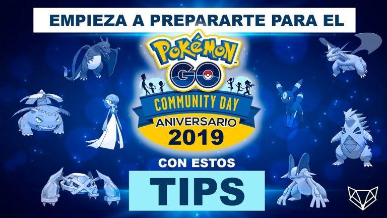 ASÍ DE BRUTAL SERÁ EL COMMUNITY DAY ANIVERSARIO 2019 – Pokémon Go [LioGames]