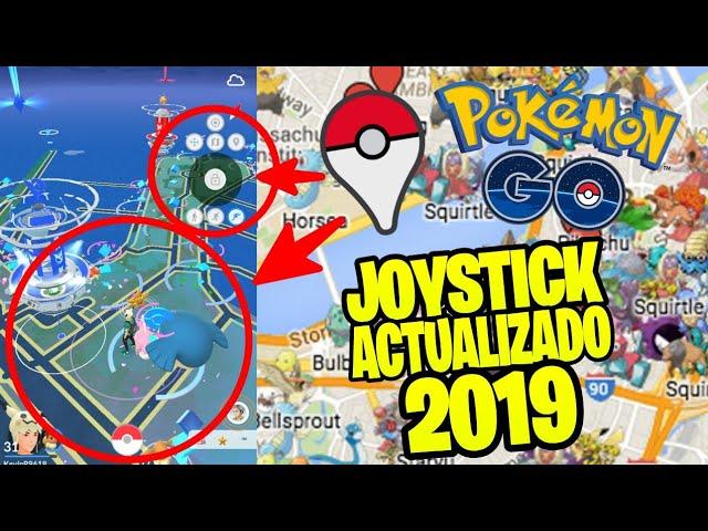 Como JUGAR POKEMON GO Desde CASA – JOYSTICK ACTUALIZADO 2019