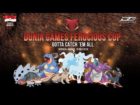 Dunia Games Ferocious Cup Pokemon Go 2019