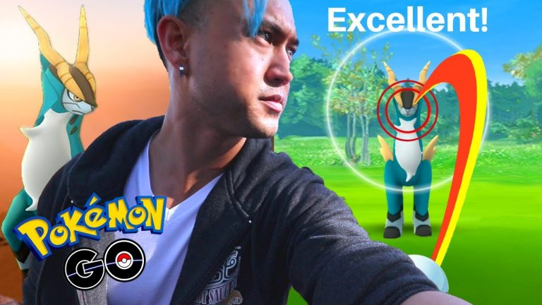 HOW TO CATCH COBALION IN POKEMON GO (2019)