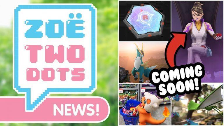 THEY'RE COMING! Giveaway, Team GO Rocket, Cobalion Raids, Sword & Shield News #ZTDNews Pokémon GO