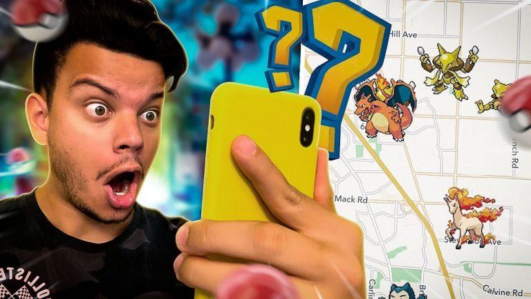 TESTEI UM RADAR POKEMON E TIVE UM SURPRESA ! – Pokémon Go ‹ PORTUGA GAMES ›