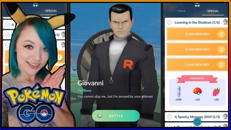 DO THIS BEFORE HUNTING GIOVANNI IN POKÉMON GO!