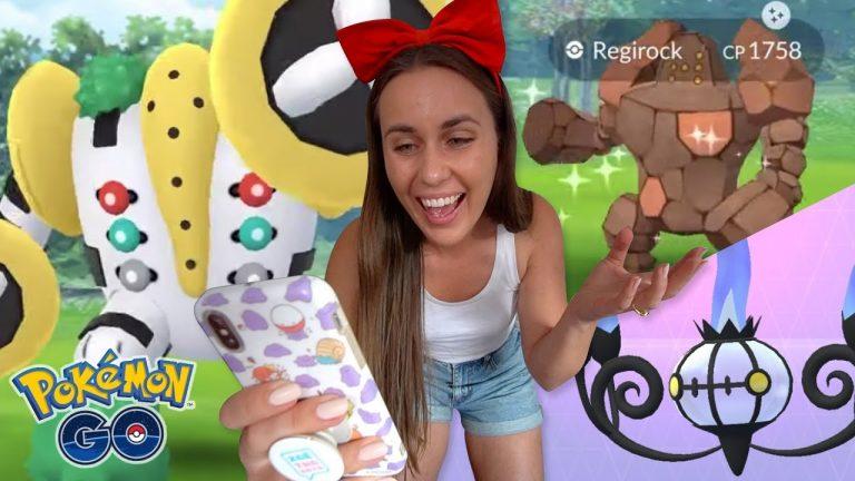 A COLOSSAL SUCCESS? FULL Regigigas Research Quest Line & Shiny Raids in Pokémon GO