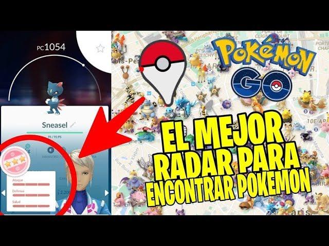 EL MEJOR POKE RADAR PARA ENCONTRAR POKÉMON 2019! – POKEMON GO