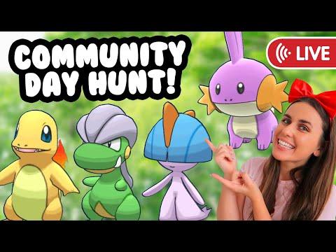 🔴LIVE🔴 DECEMBER COMMUNITY DAY SHINY HUNT | Pokémon GO