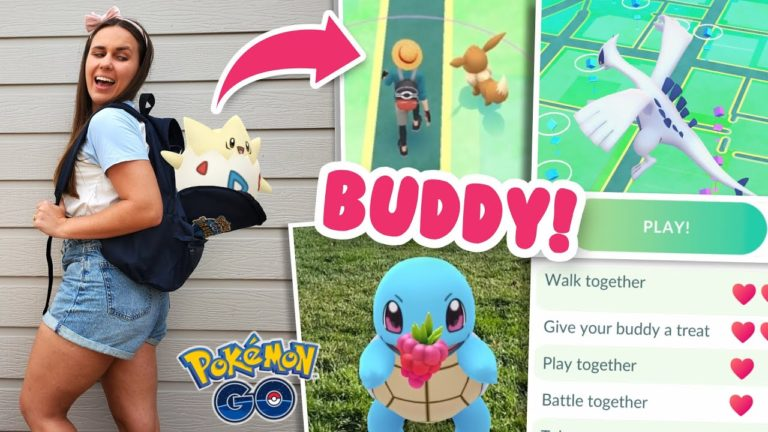LEVEL BOOST WITH NEW BUDDY FEATURE! Pokémon GO