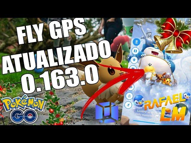 Fly Gps Joystick Pokémon Go Atualizado Como instalar Atualização De Natal Pokémon Go 0.163.0