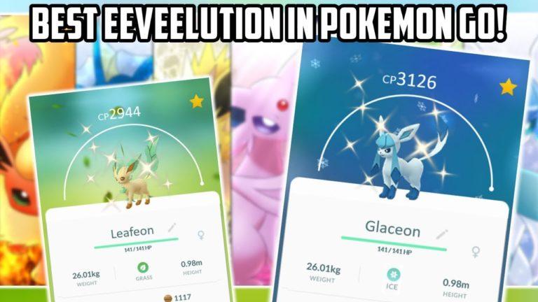 The Best Eeveelution In Pokemon Go!