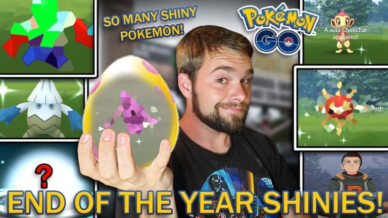 THE LAST SHINY POKEMON GRIND OF THE YEAR! (Pokemon GO 2019 Holiday Event)