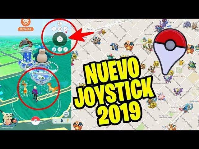 Como JUGAR POKEMON GO Desde CASA 2019 – NUEVO JOYSTICK