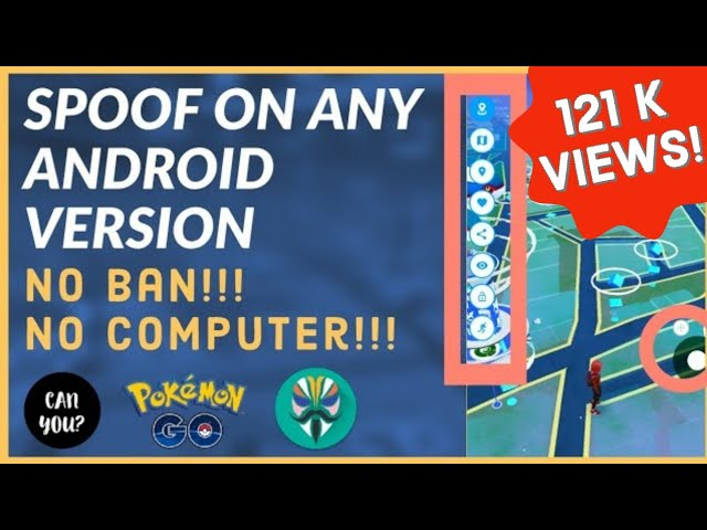 Spoof in Pokemon Go easily in any android phone(December 2019)  Spoof in Pokemon go Without computer