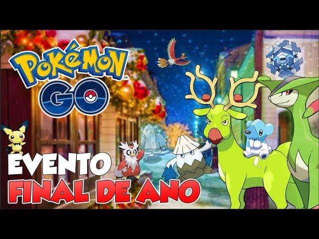 EVENTO CABULOSO DE NATAL E ANO NOVO –  Pokémon Go | PokeNews