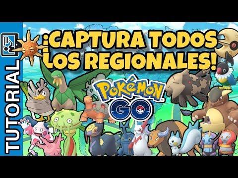 UBICACION DE TODOS LOS POKEMON REGIONALES #pokemongo #communityday