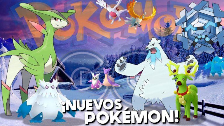 ¡EVENTO de NAVIDAD con NUEVOS POKÉMON 5GEN, SHINYS, LEGENDARIOS y mucho más en Pokémon GO! [Keibron]