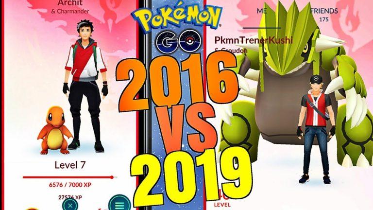 Historia Pokemon GO – 2016 vs 2019 (NAJWIĘKSZE ZMIANY) [cz.1]