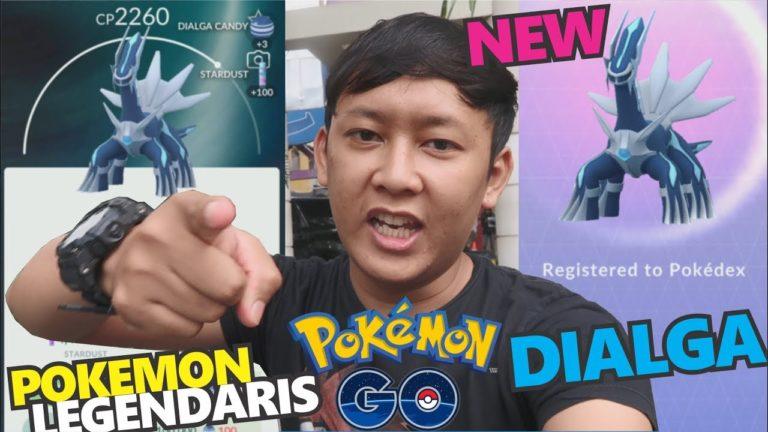 POKEMON LEGENDARIS DIALGA DATANG !!! 「Pokemon GO Indonesia」