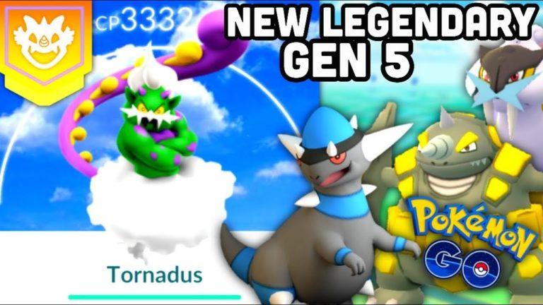 New Gen 5 Tornadus Legendary Raid guide for Pokemon GO