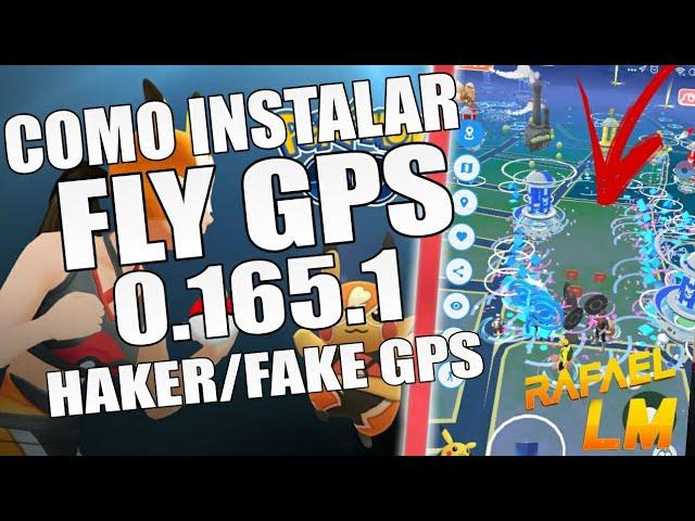 FLY GPS NO POKÉMON GO COMO USAR HAKER/GPS NO POKÉMON GO ATUALIZADO EM TODOS ANDROID