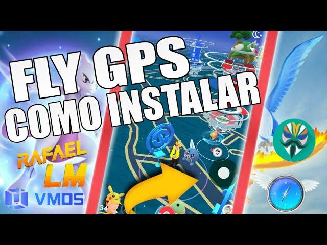 Fly Gps Pokémon Go Como instalar Haker/Fly Gps Joystick Funcionando Em Todos Android Atualizado