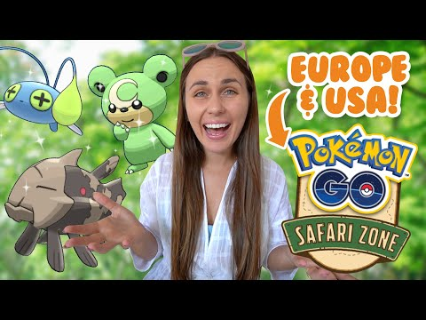 UK & USA SAFARI ZONES 2020! Pokémon GO