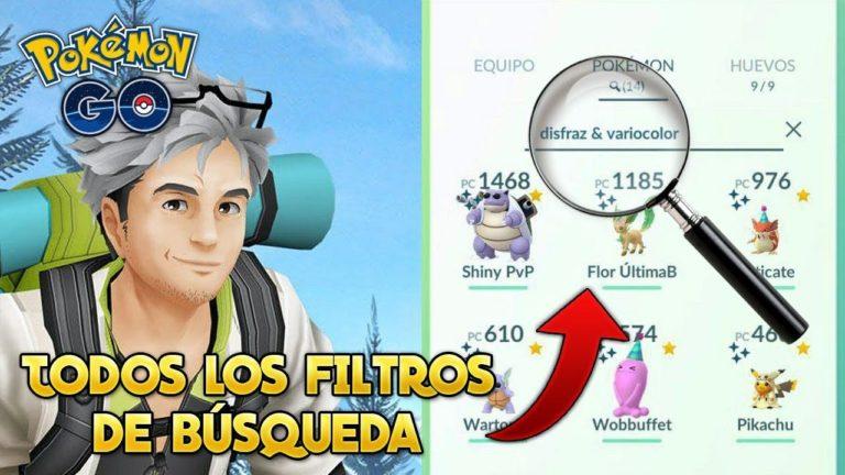TODOS los FILTROS de BÚSQUEDA (GUÍA COMPLETA & ACTUALIZADA 2020) – Pokémon Go