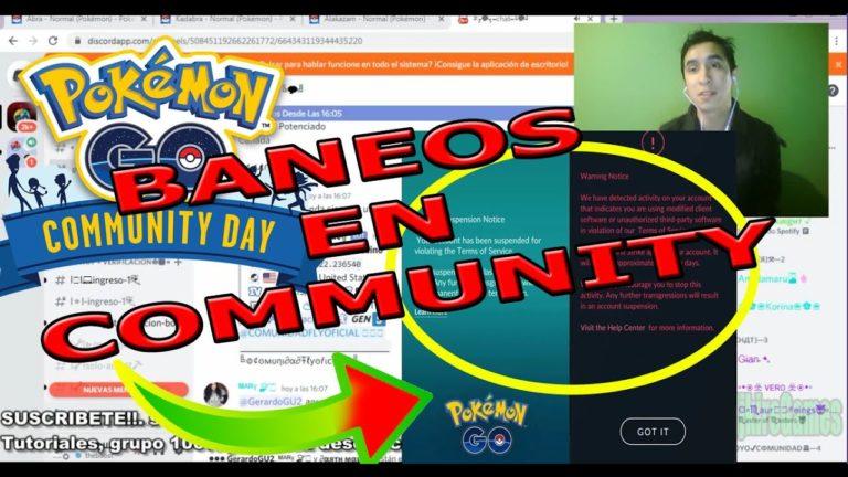 BAN en community day que hacer si tengo mi cuenta baneada en pokemon go. como aprovechar al maximo!!