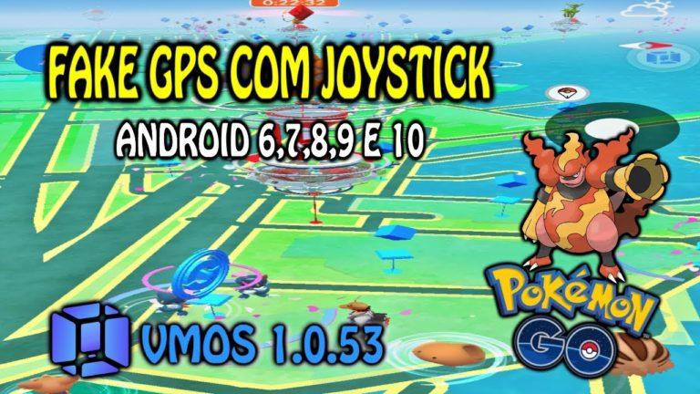 FAKE GPS COM JOYSTICK ANDROID 6,7,8 E 9 – POKÉMON GO 2020 – SEM ROOT