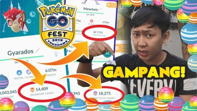 INILAH CARA CANDY BUAANYAAAKKK DI POKEMON GO !!! [TIPS & TRICK]
