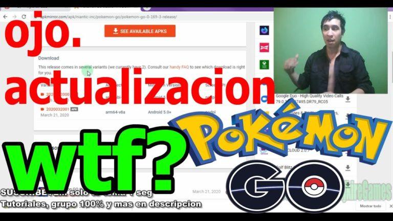 OJO!! ACTUALIZACION POKEMONGO Y VMOS ! 0.169.3. QUIEN VIENE A  las RAIDS  EN POKEMON GO ? (Megalike)