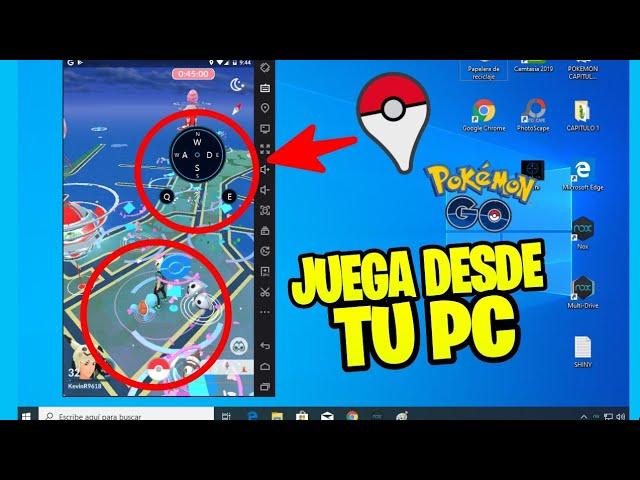 Como JUGAR POKEMON GO Desde Tu PC – CASA! | 2019
