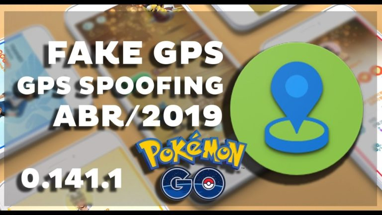 Fly / Fake GPS para Android com JoyStick Pokemon GO 0.141.1, Abril de 2019 | Guia